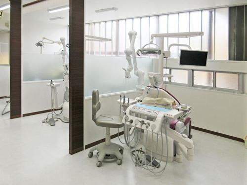 甲府市 武井歯科 診察室