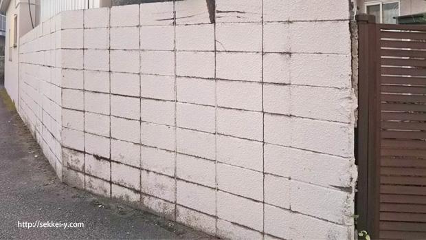 劣化を確認した高さ1.2m以上のコンクリートブロック塀