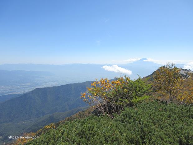 地蔵岳から見る富士山