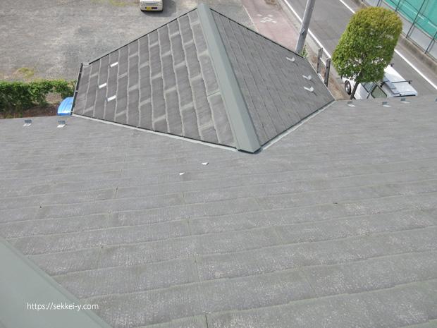 既存の屋根 コロニアル