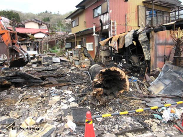 住宅の火災