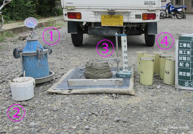 コンクリートの品質検査