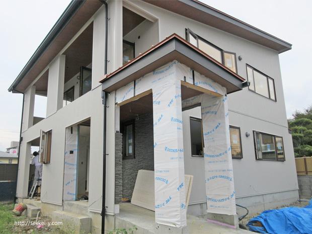 甲府市上石田の家