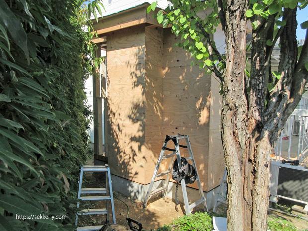木造住宅 トイレの増築