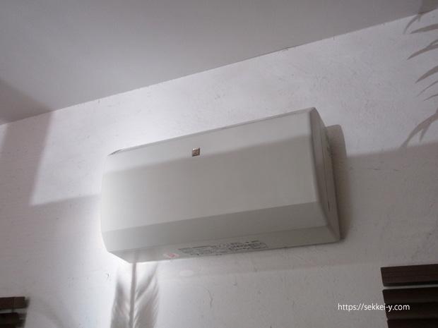 熱交換器付24時間換気扇(ロスナイ)